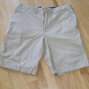 Tommy Hilfiger Khakhi Flat Front Shorts
